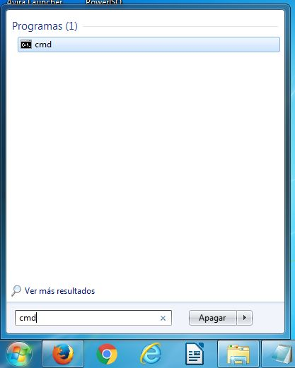 Abrir CMD en Windows